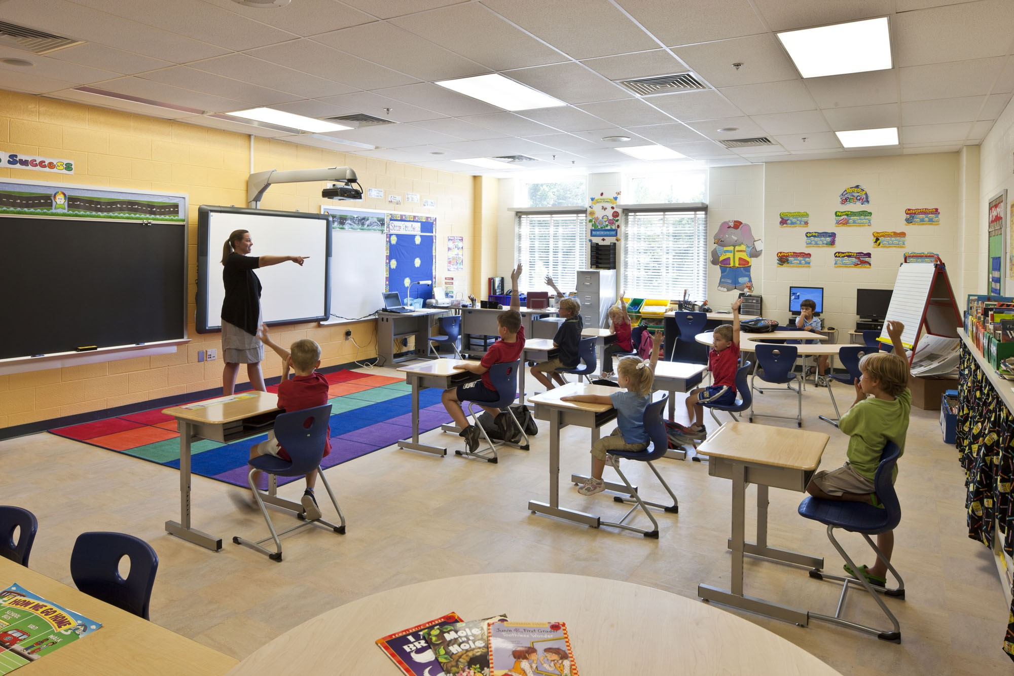 Modern Art Classroom ~ Baltimore county public schools west towson elementary