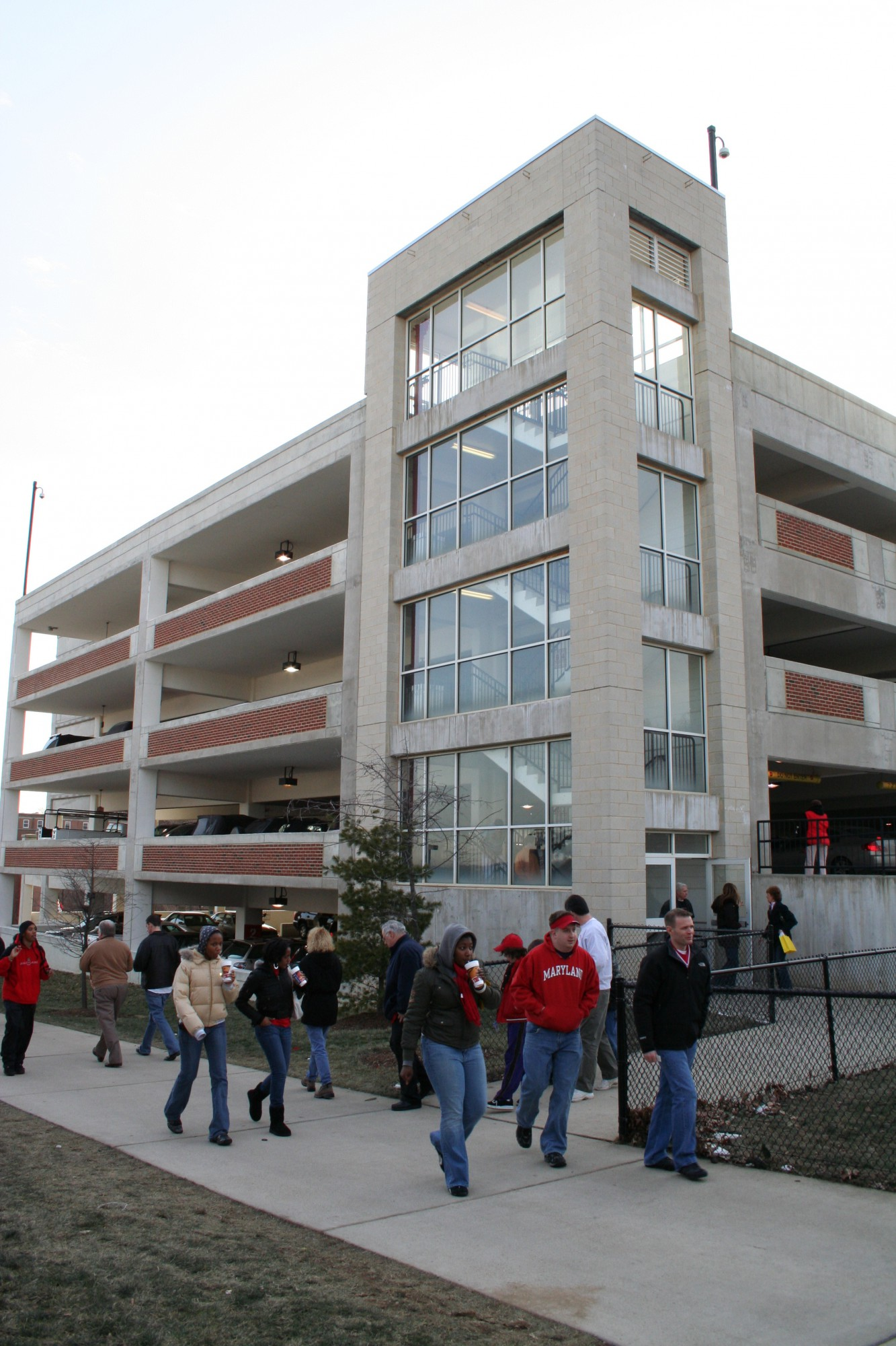 3 Car Garage Square Footage >> University of Maryland, College Park - Comcast Center Parking Garage · Portfolio · Design Collective