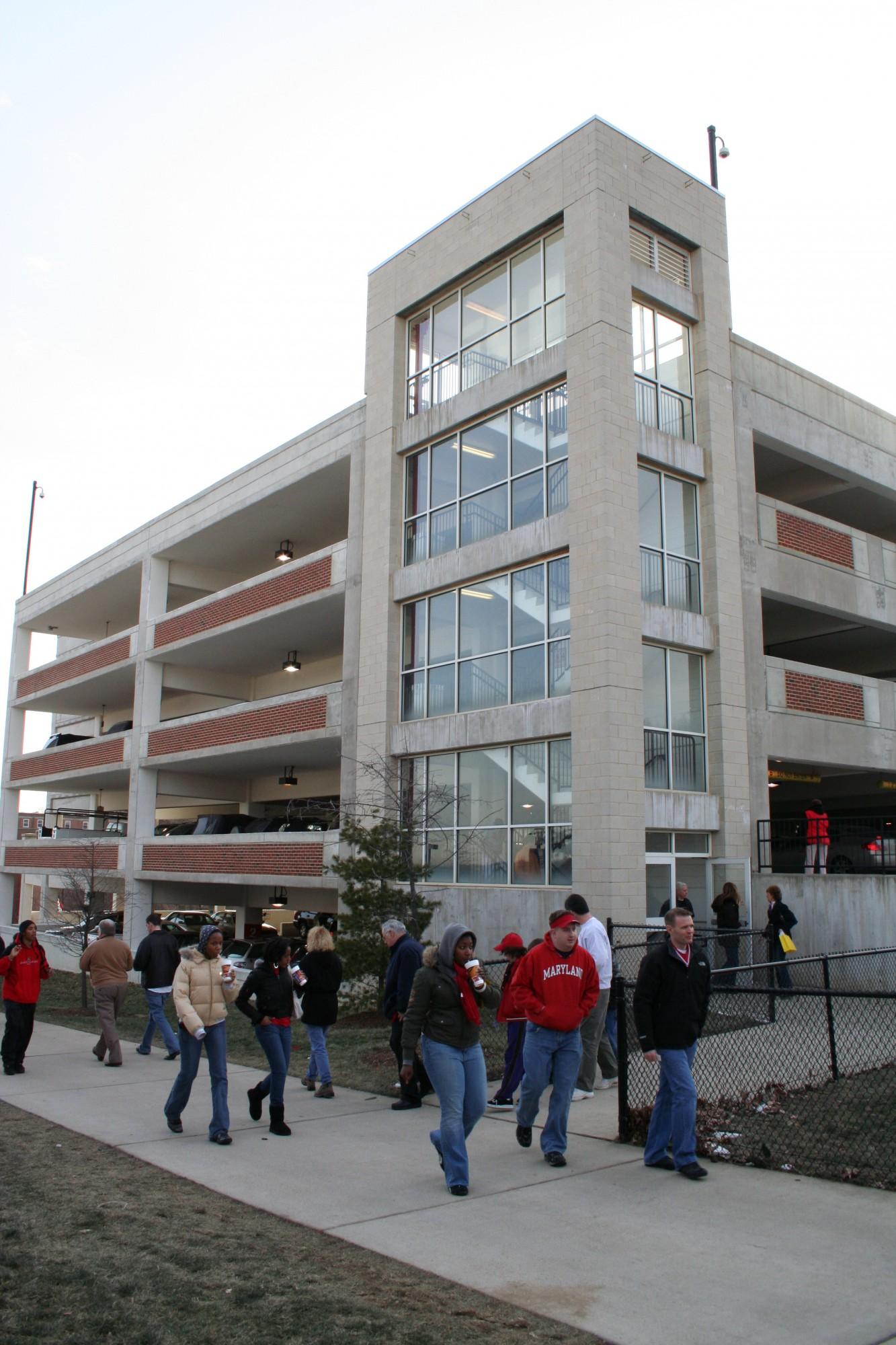 University of Maryland, College Park - Comcast Center Parking ...