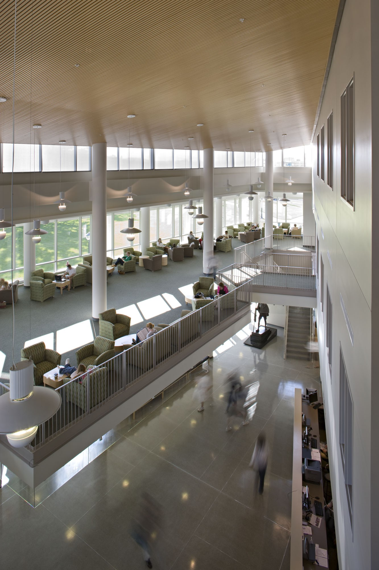 James Madison University Rose Library 183 Design Collective