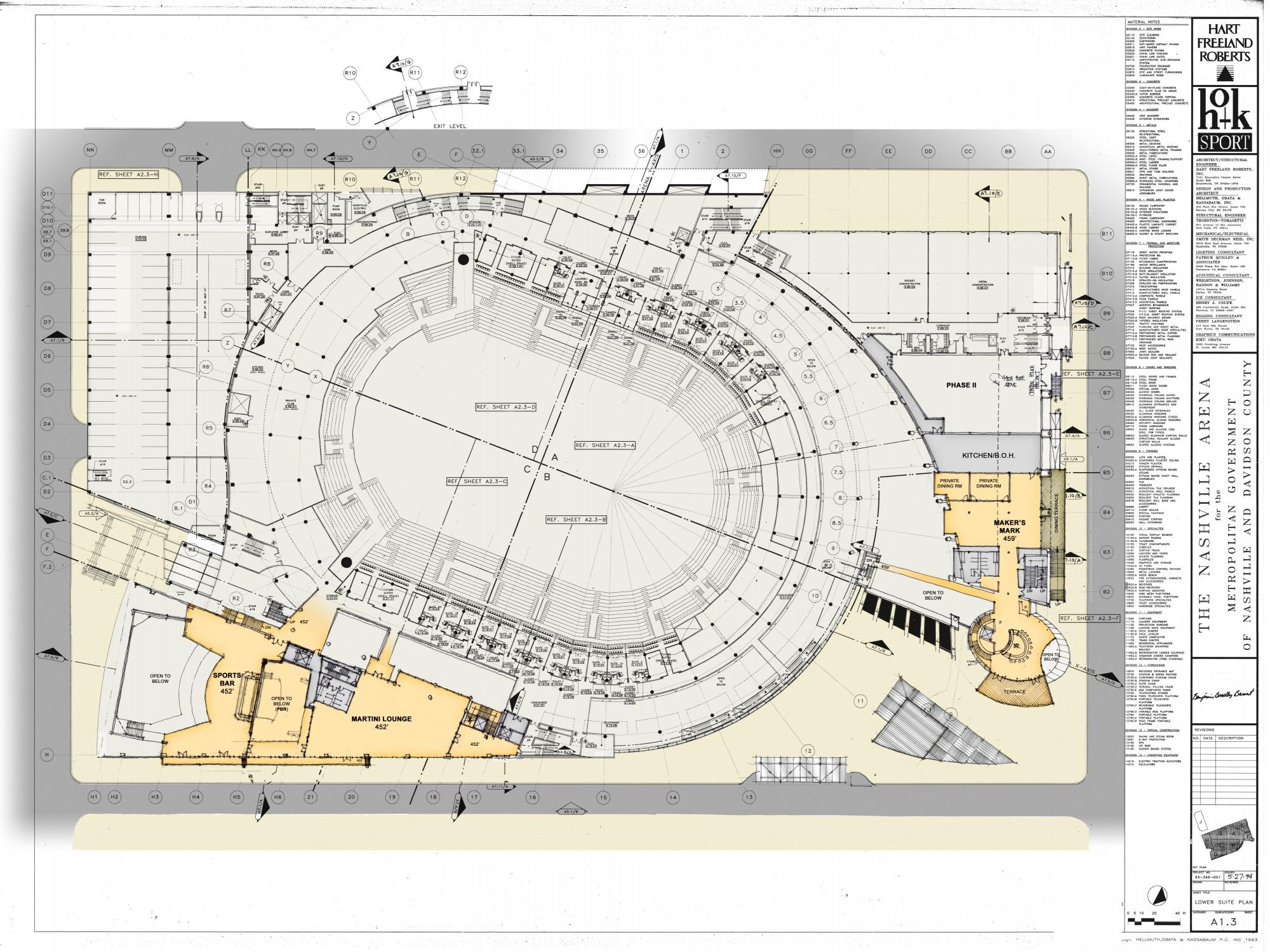 The Cordish Companies Nashville Predators Bridgestone Arena Renovation Addition Design Collective
