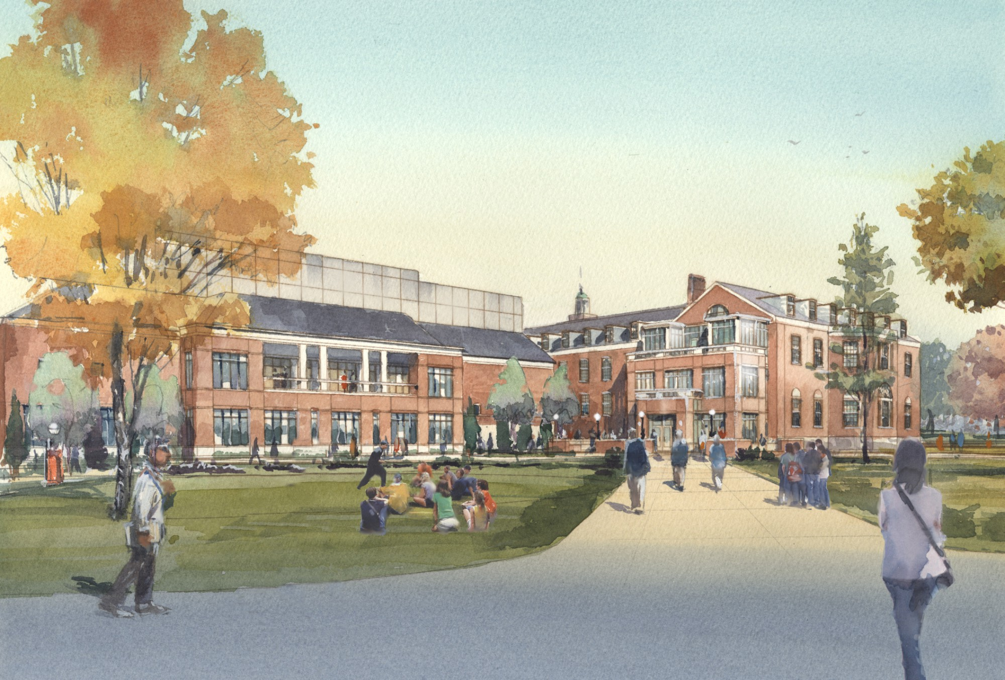 The Mcdonogh School The Burck Center Renovation