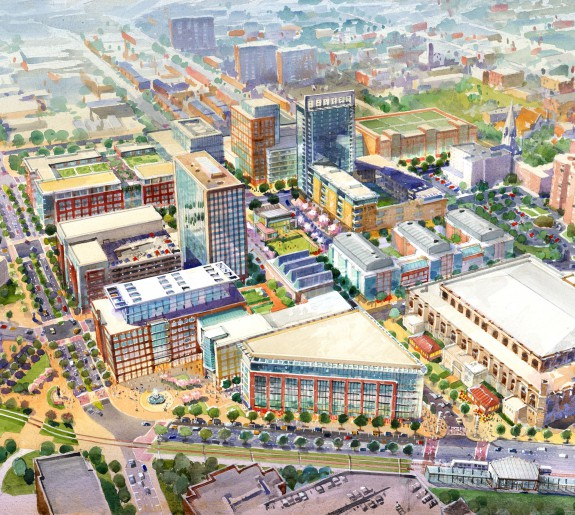 Town Center Columbia Md: Downtown Elkton Master Plan · Design