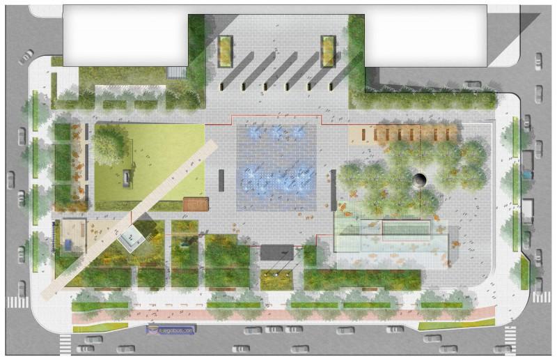 Design collective wins national landscape design for Landscape design competition
